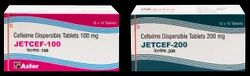 Cefixime 100/ 200 mg DT(Jetcef 100/ 200 mg) Tablet