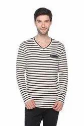 Trendy Men Henley Neck T- Shirts