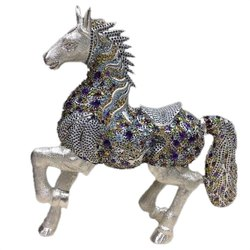 Sterling Silver horse  Stone Articles