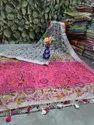 Linen Madhubani Sarees