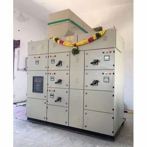 MS Sheet Enclosure 4 Way DC Power Distribution Panel Board