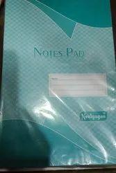 Green Note Sheet Pad