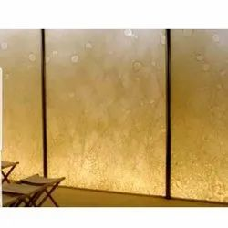 Fabric Laminated Glass, Thickness: 11 Mm, Size: 6x10 Feet