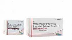 CONFORMIN SR- 500/SR-1 (Metformin (SR) Tablets I.P.)