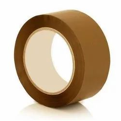 Plastic Plain Brown Self Adhesive Tape, For Packaging
