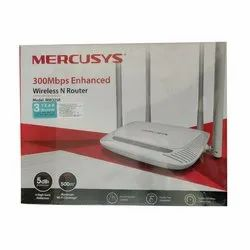 White MERCUSYS Wireless Router, Model No.: MW325R, 300 Mbps