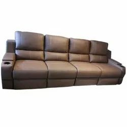 Motorized Recliner Leather Sofa