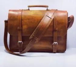 LFB04 - Premium Quality Hunter Leather Office Bag