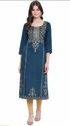 Casual Wear Regular Printed kurti