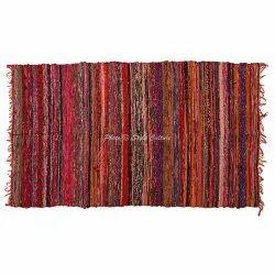 Handmade Room Decorative Cotton Chindi Rugs