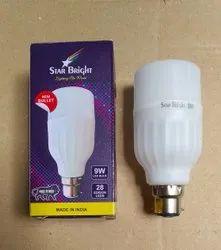 9w Bullet Bulb, For Home, Base Type: B22