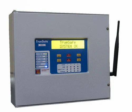 TrueSafe Conventional Fire Alarm Panel 4 Zone with Cloud Connectivity