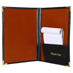 Professional Leather Bill Folder