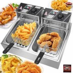 Modern Deep Fryer  Double Tank