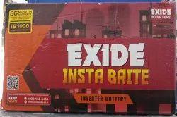 Exide 100ah Battery, Warranty: 3 years