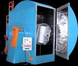 40HP Single Station Bi Axial Rotational Moulding Machine