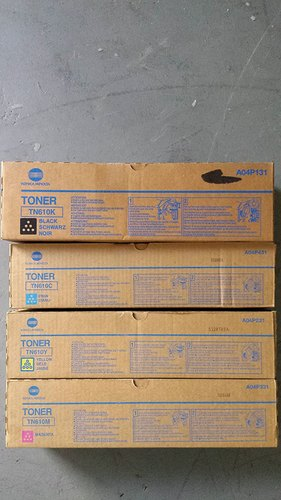 Konica Minolta TN610K (A04P131) Black Toner Cartridge