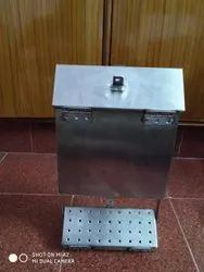 Silver Stainless Steel SS Box Section, Dimension: 500x500x300 Mm, Thickness: 4-6 Mm