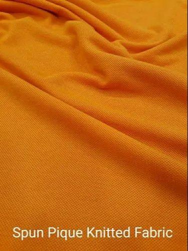 Spun Pique Knitted Fabric