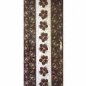 Wood Brown Trendy Mica Door