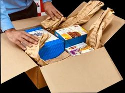 Brown Fillezy Paper- Smart Pads Biodegradable Compostable, For Packaging, For Shock absorption