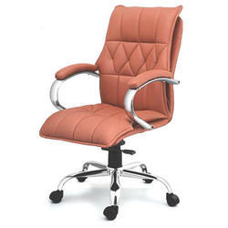 SPS-132 Medium Back Director Leather Chair