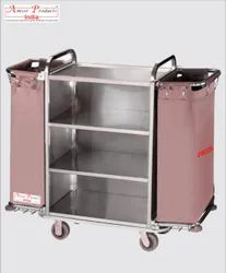 SS Maid Housekeeping Trolley