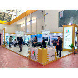 Decoration Wooden CREDAI - Exhibition Stall fabricator, India, Features: Trade Fair
