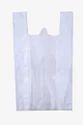 White Plain Non Woven W Cut Bag, Size: 11 X 14, Capacity: 1-1.5
