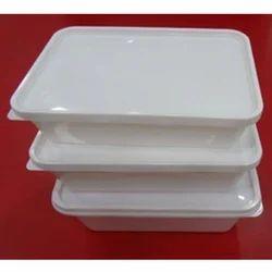 Rectangle Plastic Container