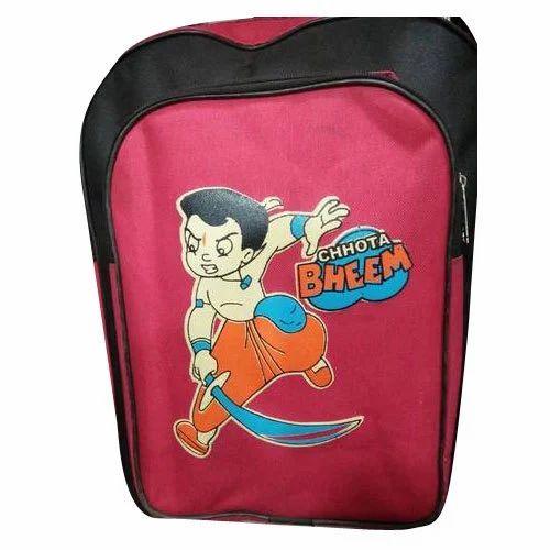 Printed Kids Stylish School Bag