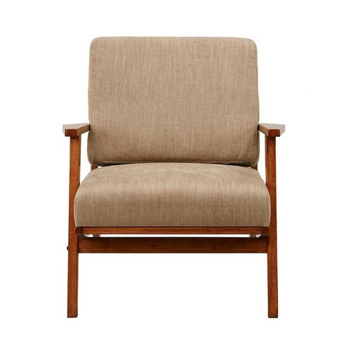 Wood Arm Chair, Seat Size: 21 x 21 Inch