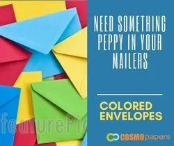 Finper Colored Paper Envelopes, Packaging Type: Hard Box