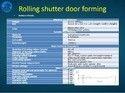 Rolling Shutter Door Forming Machine