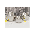 Metal Double Wall German Shape Bowls, For Home