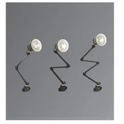 K-Lite Four Arms Industrial Machine Lamps