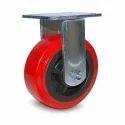 125 X 32mm Fix Type PU Caster Wheel