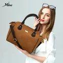 Crossbody Strap Handbag with Multi Compartments