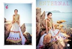 KHWAISH Ladies Embroidery Lehenga Suit