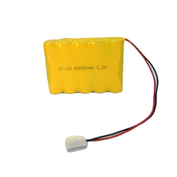 6 V NiCd Rechargeable Batteries