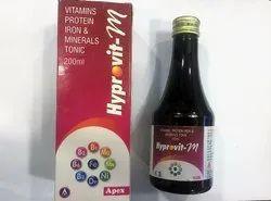 Vitamins Protein Iron & Minerals Tonic, Packaging Type: Plastics Bottle