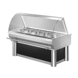 Display Counter Bent Glass