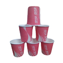Cold Beverage Disposable Paper Cup, Packet Size: 100 Pieces
