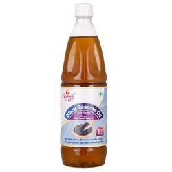 Shreeji 1 L Black Sesame Oil, Plastic Bottle