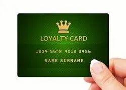 PVC Embossed Membership Card