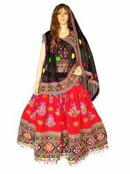 Indian Kutch Embroidered Chaniya Choli