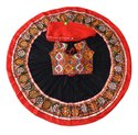 Navratri Special Chaniya Choli - Indian Cotton Kutch Embroidered Skirt With Blouse And Dupatta