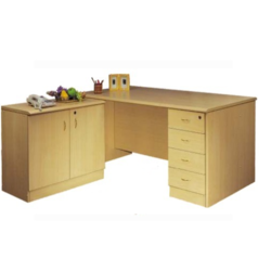 Wooden Office Workstation