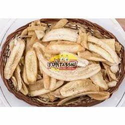 Funtassh Long Banana Mari Chips, Packaging Type: Packet, Packaging Size: 200 Gm