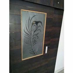 Balaji Glass & Aluminium Work 2MM Decorative Door Glass